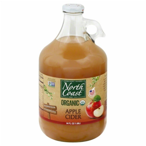 North Coast Organic Apple Cider Perspective: front