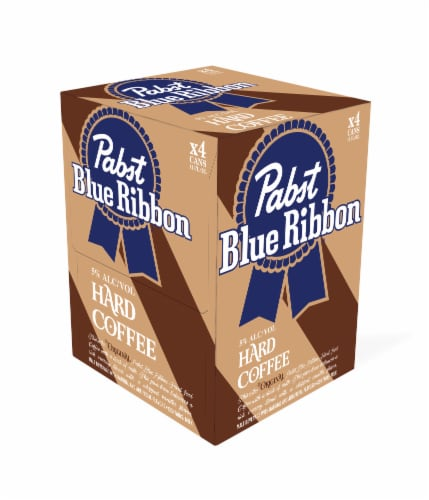 Pabst Blue Ribbon Hard Coffee Perspective: front