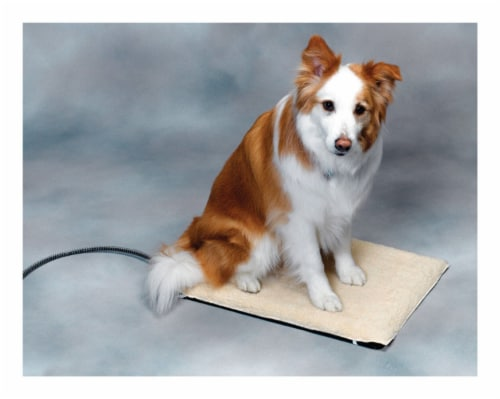 API Poly Cotton Heated Pet Mat 17 in. W x 24 in. L - Case Of: 1; Perspective: front