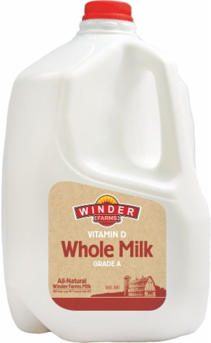Winder Farms Vitamin D Whole Milk Perspective: front