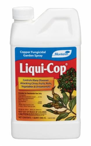 Monterey Liqui-Cop 1 Qt. Liquid Concentrate Fungicide LG 3109 Perspective: front