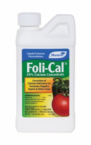 Monterey Foli-Cal Liquid Calcium Concentrate 1 pt. - Case Of: 1; Perspective: front