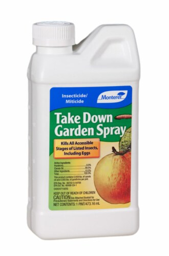Monterey Take Down Garden Spray Liquid Concentrate Insect Killer 1 - Case Of: 1; Perspective: front