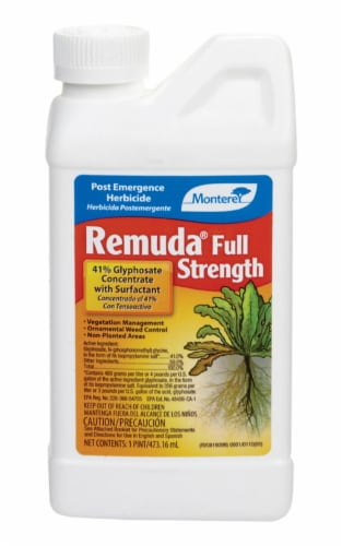 Monterey Remuda 1 Pt. Concentrate Weed & Grass Killer LG5180 Perspective: front