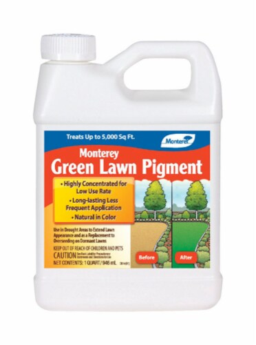 Monterey Green Lawn Pigment Lawn Dye 5000 sq. ft. For All Grasses - Case Of: 1; Perspective: front