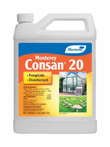 Monterey Consan Concentrated Liquid Disease and Fungicide Control 128 oz. - Case Of: 1; Perspective: front