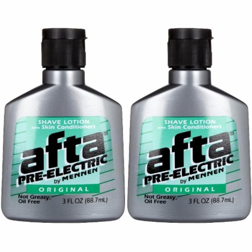 Afta Pre-Electric by Mennen Original Scent Shave Lotion Perspective: front