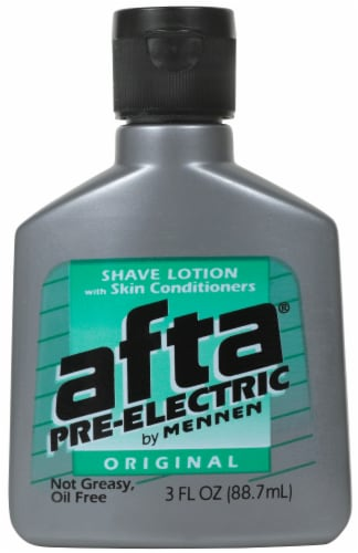 Mennen Afta Pre-Electric Original Shave Lotion Perspective: front