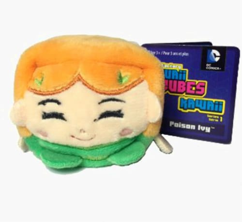 Kawaii Cubes Small DC Comics Poison Ivy Perspective: front