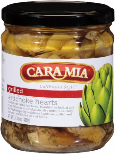 Cara Mia Grilled Artichoke Hearts Perspective: front