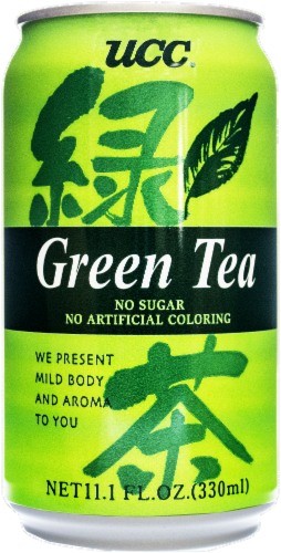 UCC Green Tea Perspective: front