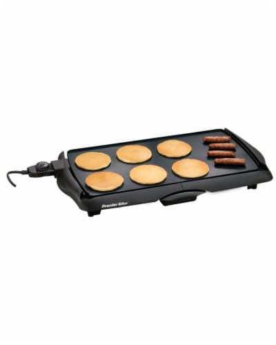 Proctor Silex® Nonstick Electric Griddle - Black Perspective: front