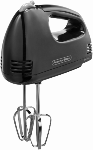 Proctor Silex® Durable Easy-Mix Hand Mixer - Black Perspective: front