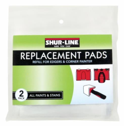 Shur-Line Paint Edger Refill,White,4-3/4  L,PK2  2001044 Perspective: front