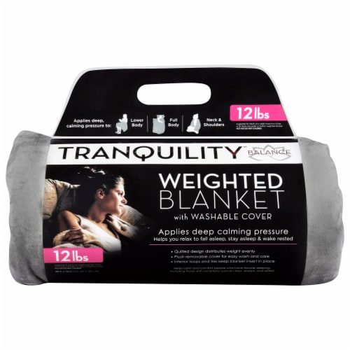 Tranquility Blanket with Removable Cover Perspective: front