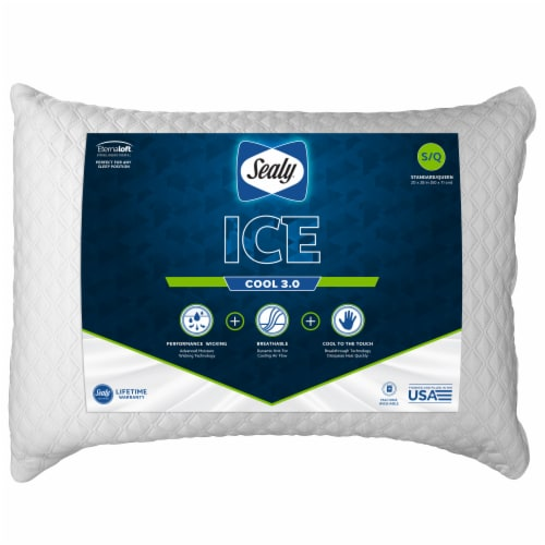 Sealy Dyneema Cooling Pillow Perspective: front