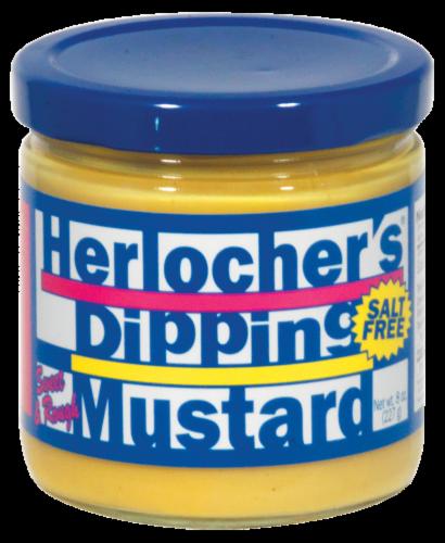 Herlocher's Dipping Mustard Perspective: front
