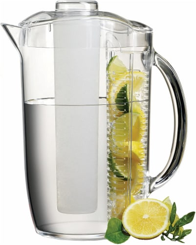 Prodyne Iced Fruit Infusion Pitcher Perspective: front