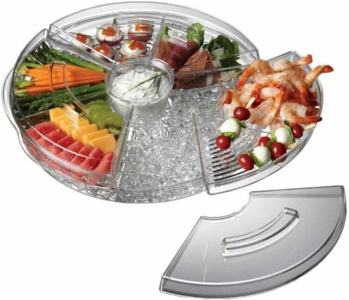 Prodyne Revolving Tray Perspective: front