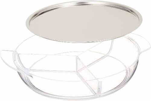 Prodyne Iced Platter Perspective: front