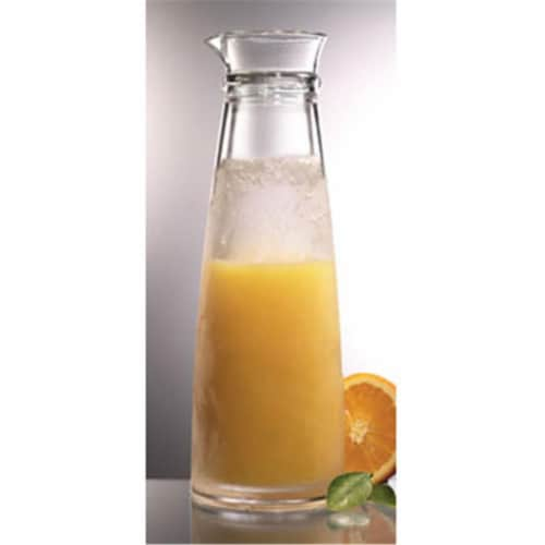 Prodyne Acrylic Iced Carafe Keeps Chilled for Hours - IC800 Perspective: front