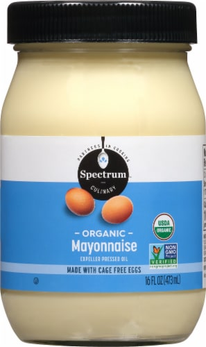 Spectrum Organic Mayonnaise Perspective: front
