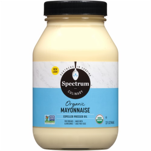 Spectrum Naturals Organic Mayonnaise Perspective: front