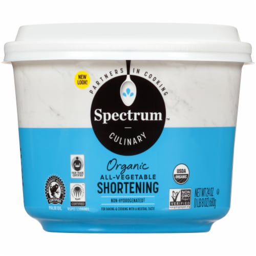 Spectrum Organic All Vegetable Shortening Perspective: front