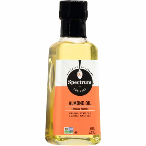 Spectrum Culinary Refined High Heat Almond Oil Perspective: front