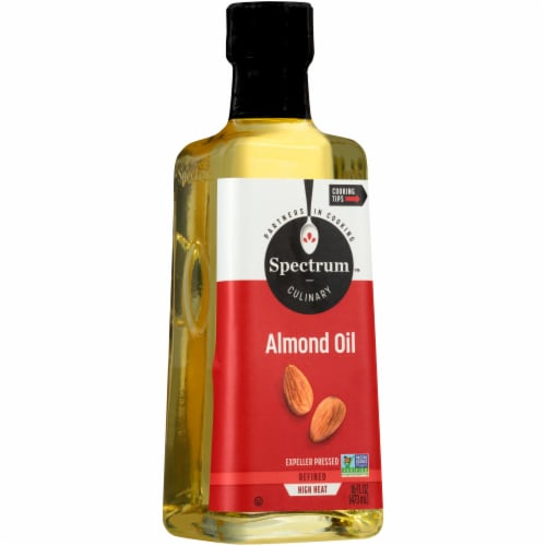 Spectrum Naturals Refined Almond Oil Perspective: front