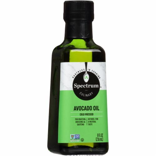Spectrum Culinary Refined High Heat Avocado Oil Perspective: front
