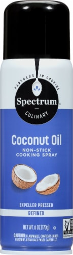 Spectrum Culinary Non-Stick Coconut Oil Cooking Spray Perspective: front
