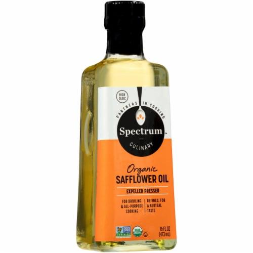 Spectrum Organic Refined High Heat Safflower Oil Perspective: front