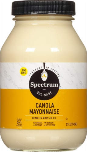 Spectrum Canola Mayonnaise Perspective: front