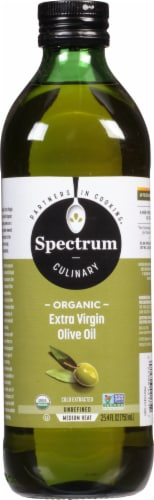 Spectrum Naturals Organic Extra Virgin Olive Oil Perspective: front