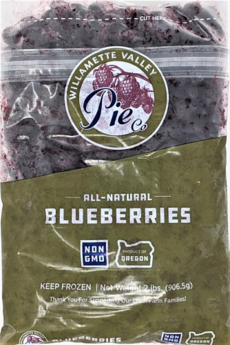 Willamette Valley Pie Co. Blueberries Perspective: front