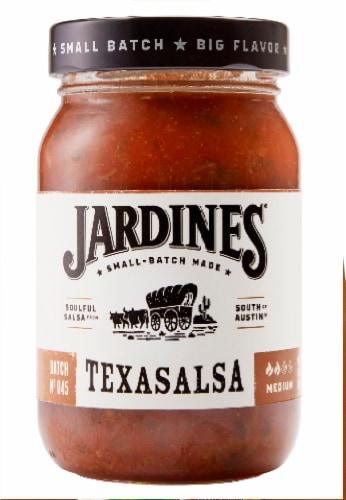 Jardines Texasalsa Medium Salsa Perspective: front