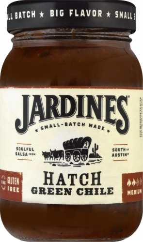Jardines Medium Hatch Green Chile Perspective: front