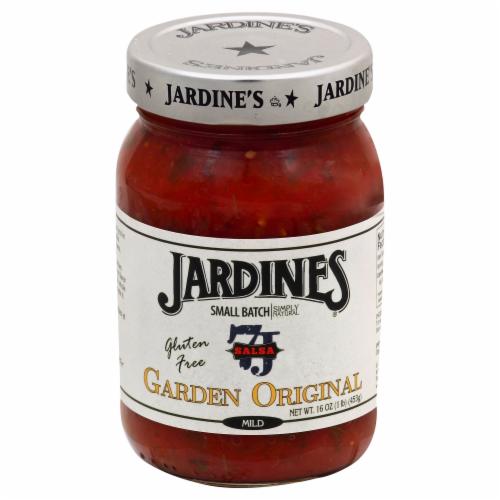Jardines Mild Garden Original Salsa Perspective: front