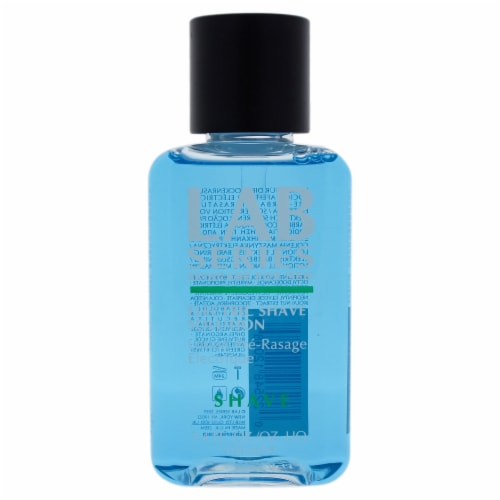 Electric Shave Solution by Lab Series for Men - 3.4 oz Lotion Perspective: front