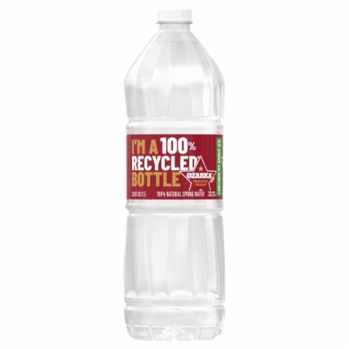 Ozarka® Natural Spring Bottled Water Perspective: front