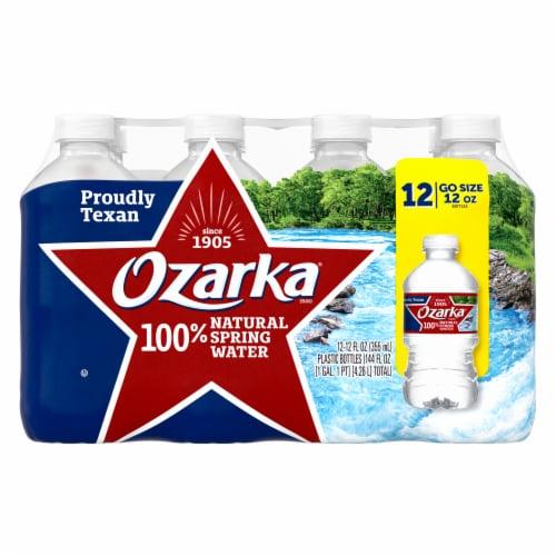 Ozarka Natural Spring Water Perspective: front
