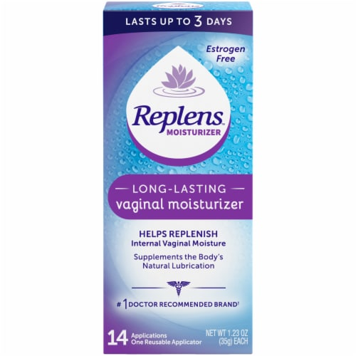 Replens Long Lasting Vaginal Moisturizer 14 Count Perspective: front