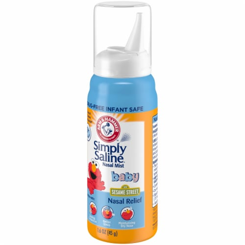Arm & Hammer Simply Saline Baby Nasal Relief Perspective: front