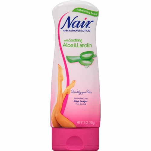 Nair Hair Remover Aloe & Lanolin Lotion Perspective: front