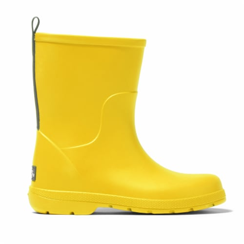 Totes Toddler's Charley Tall Rain Boots - School Bus Perspective: front