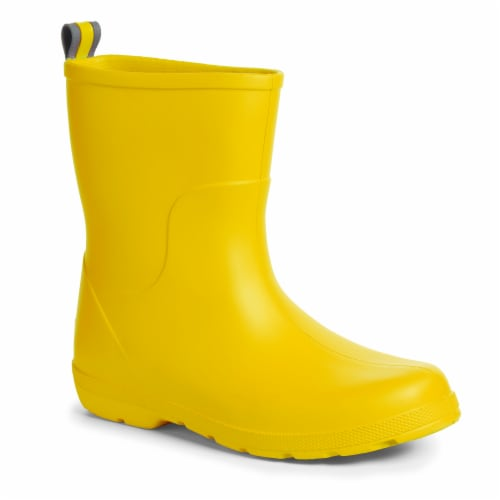Totes® Toddler's Charley Tall Rain Boots - School Bus Perspective: front
