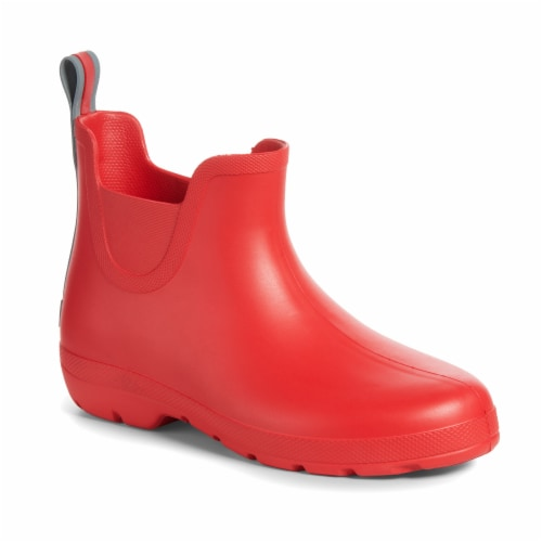 Totes Women's Rain Boots - Red Perspective: front
