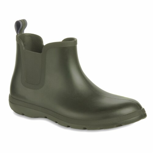 Totes® Men's Chelsea Short Boots - Loden Perspective: front