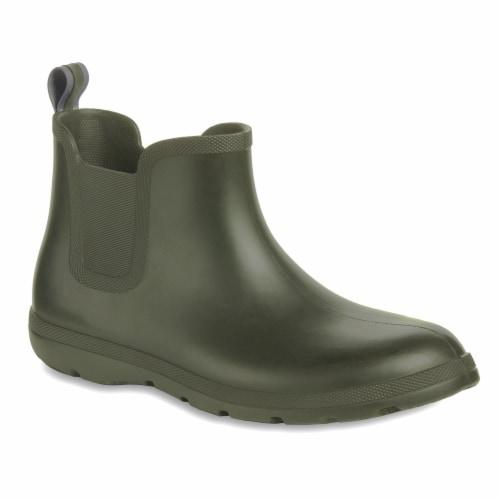 Totes® Men's Chelsea Short Rain Boots - Loden Perspective: front